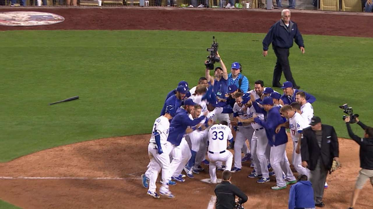Van Slyke's walk-off shot