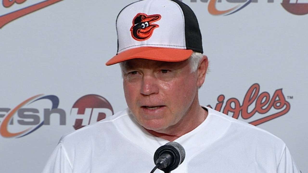 Showalter on return to Baltimore