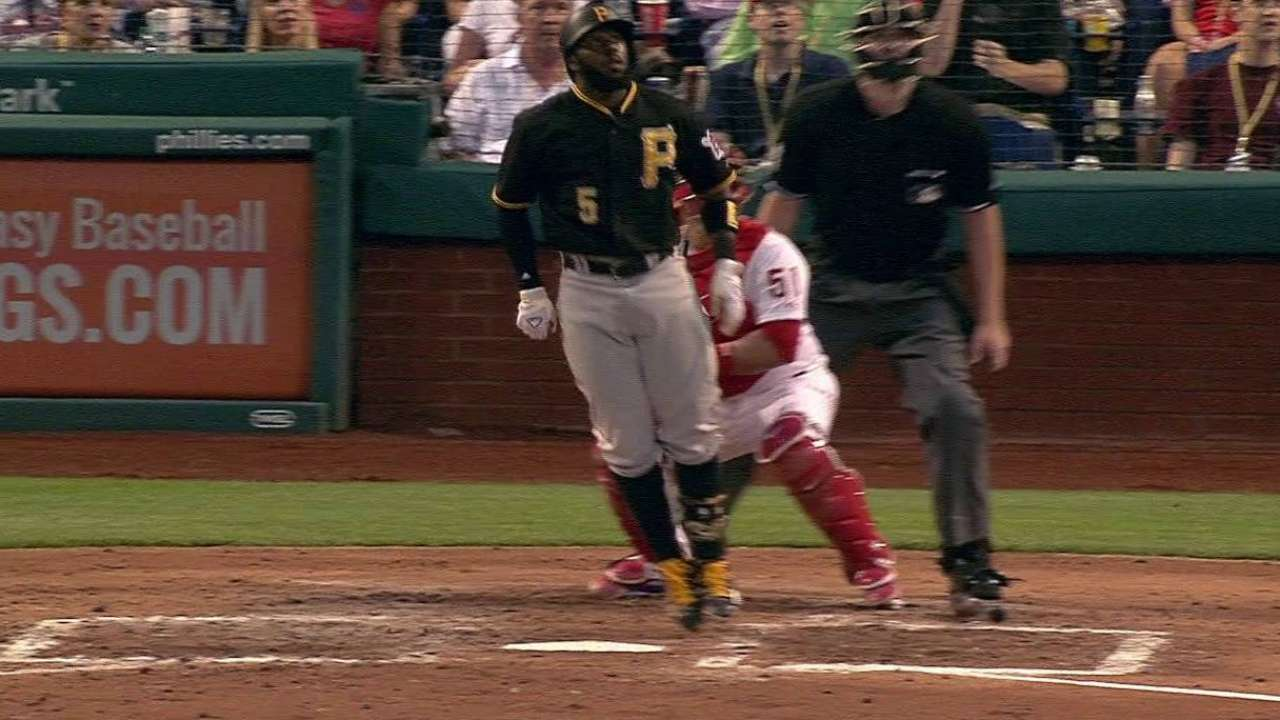 Pirates knock off Phillies, win fourth straight