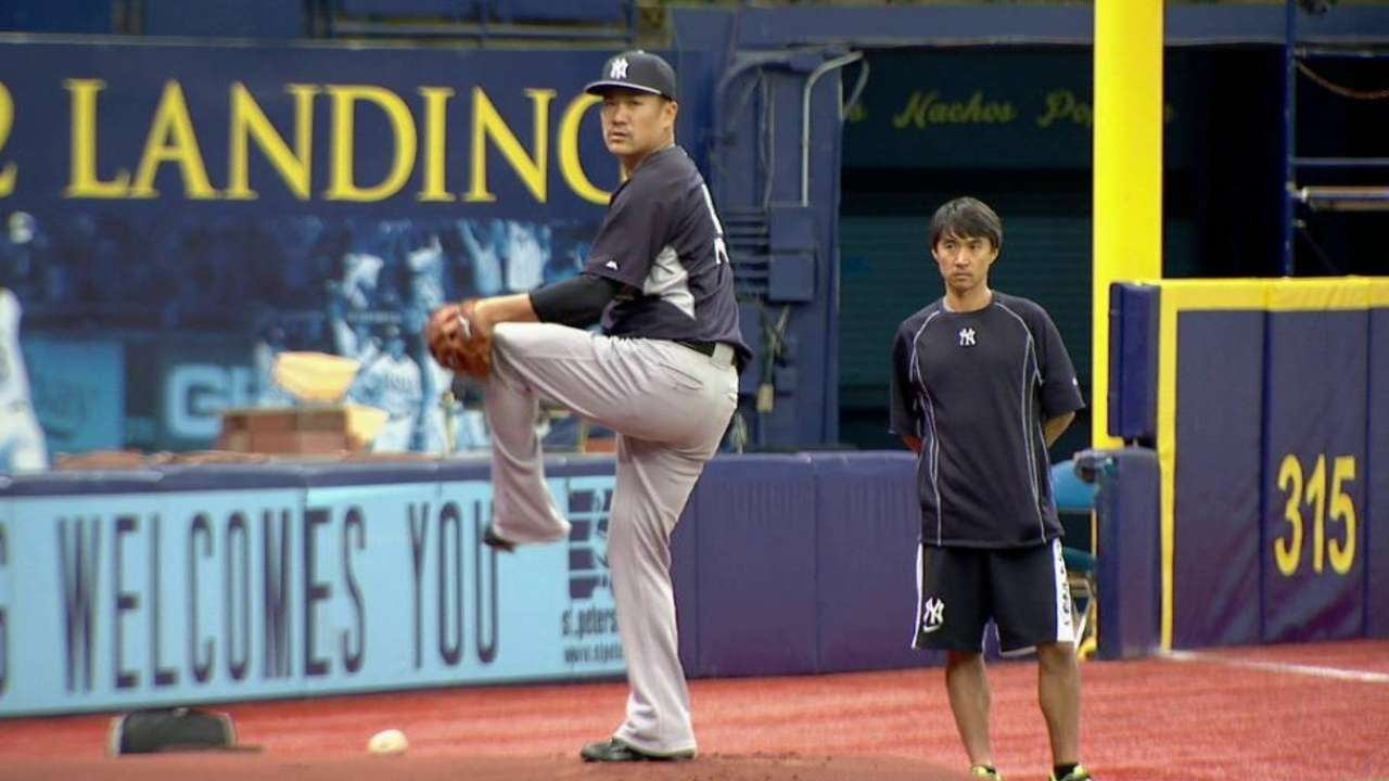 Tanaka to throw another 'pen session Friday