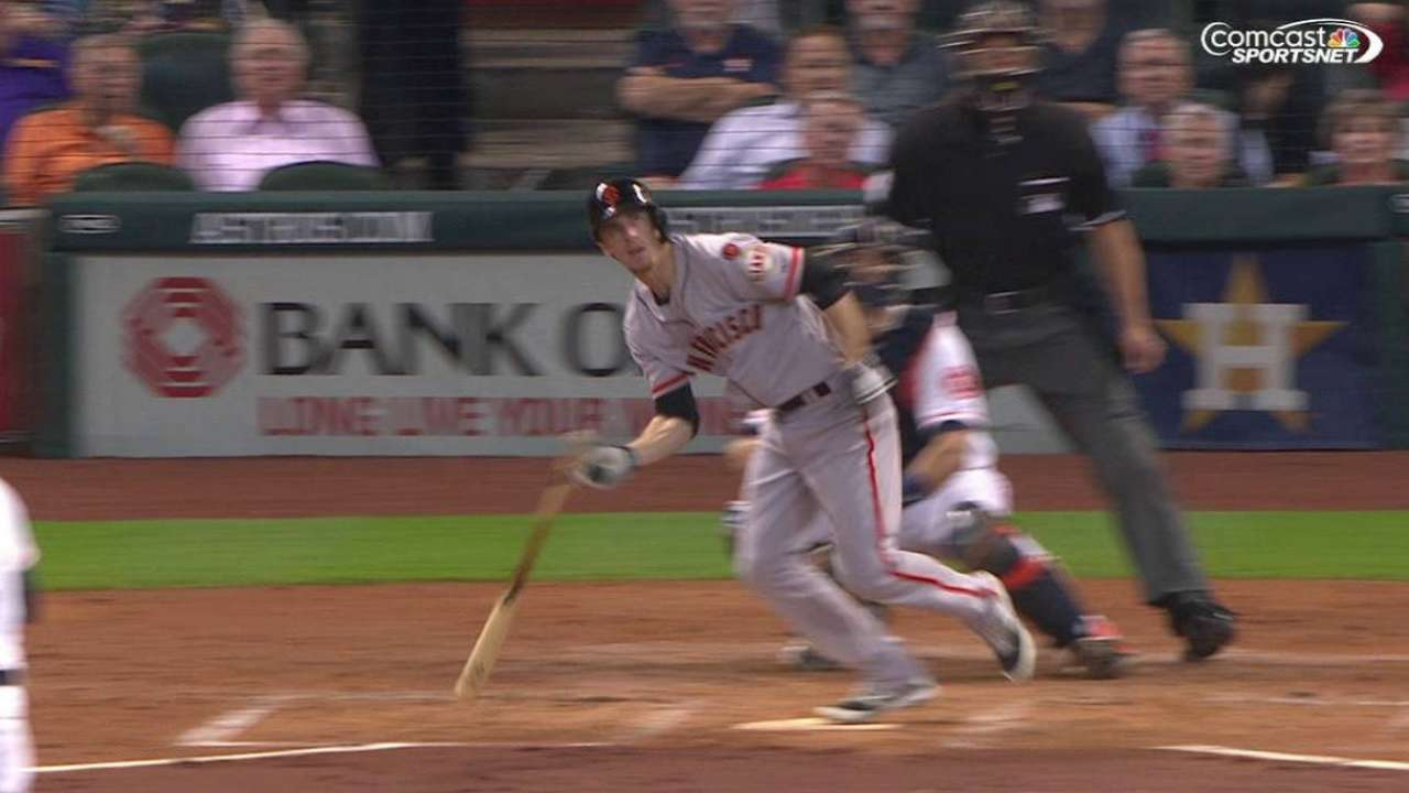 Duffy's bases-clearing double