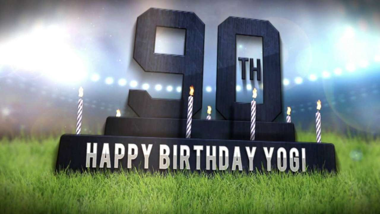 Yanks wish Yogi a Happy Birthday