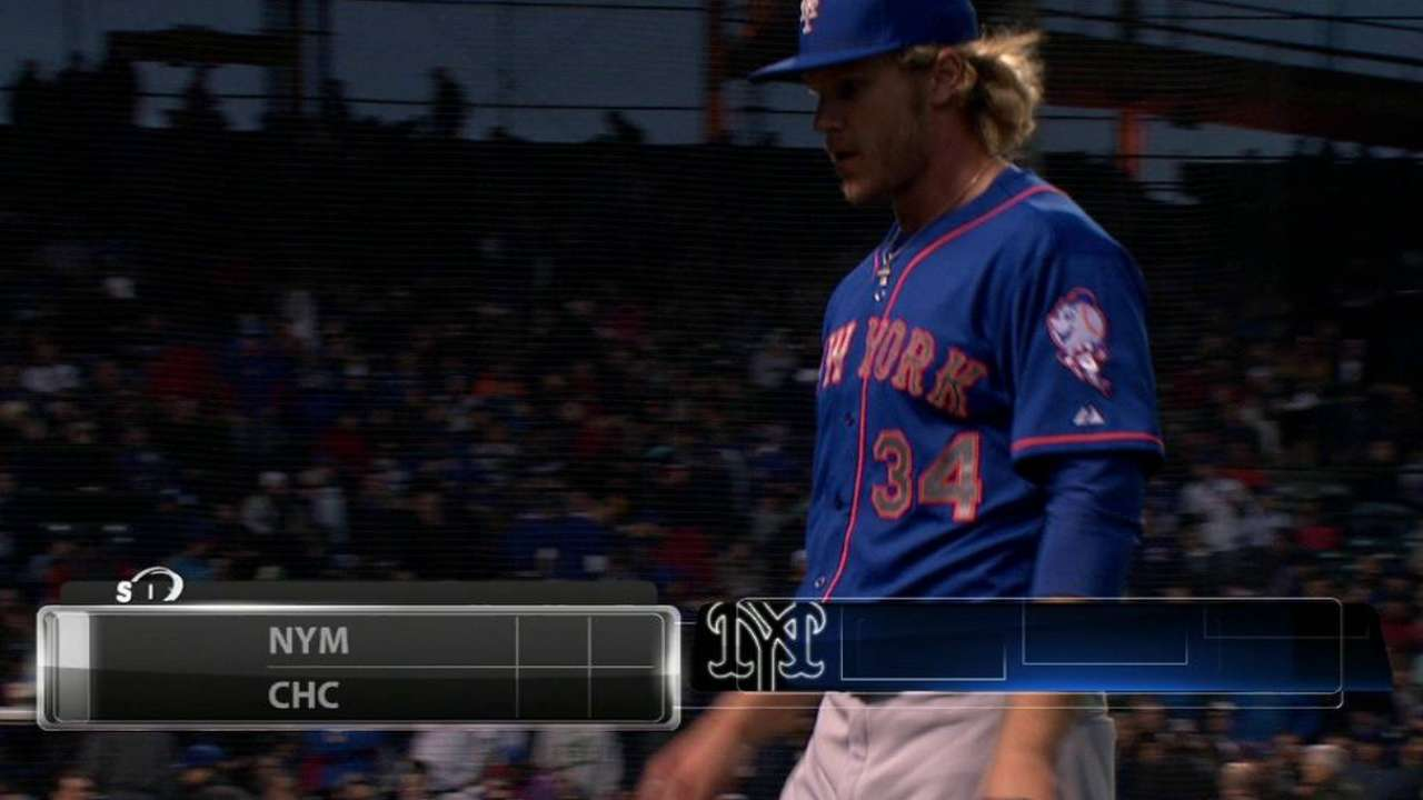 Syndergaard gets out of jam