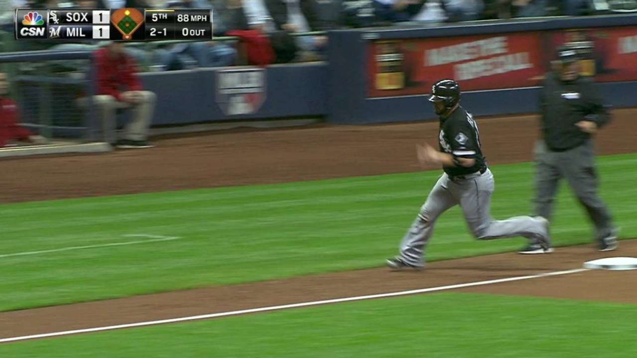 Johnson's RBI single