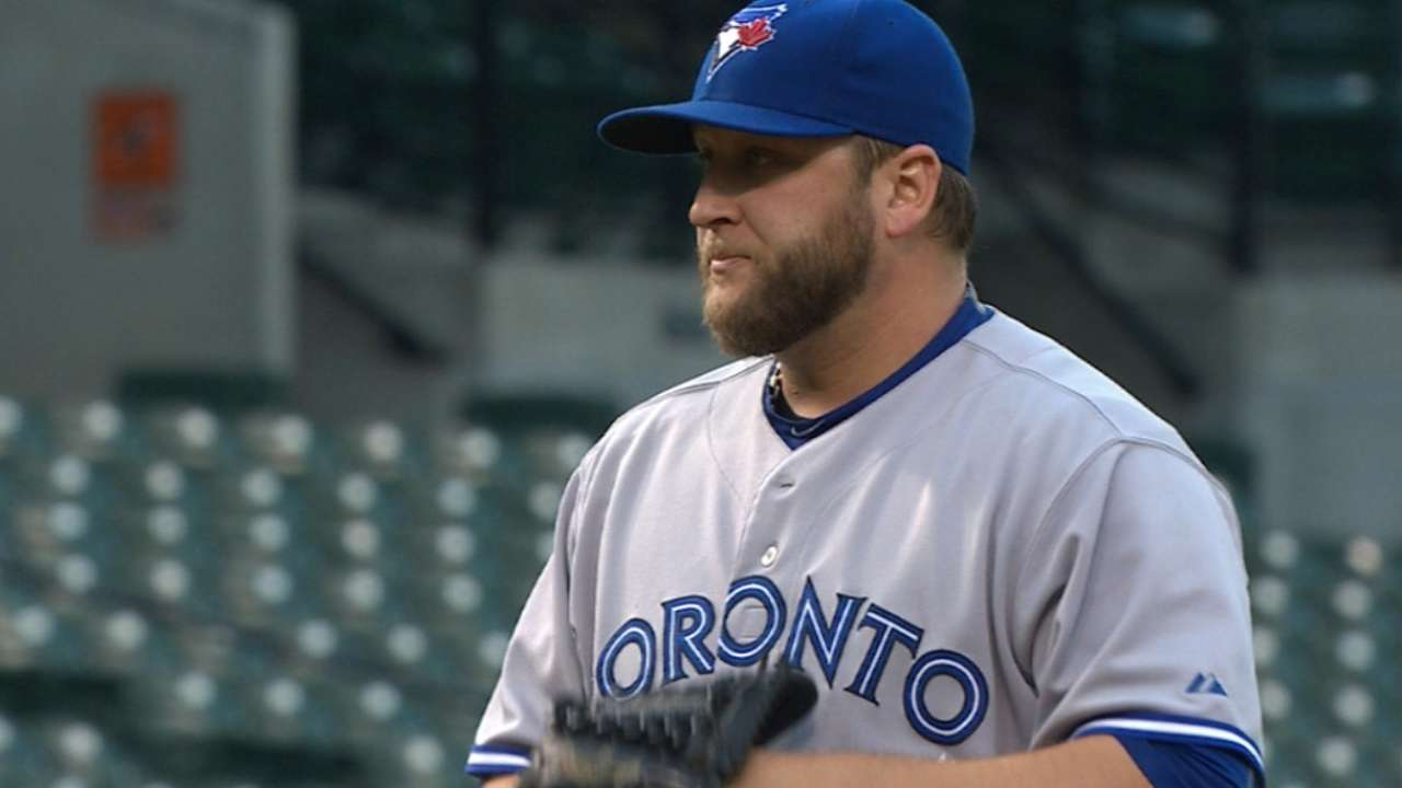 Buehrle buckles down for third win over O's
