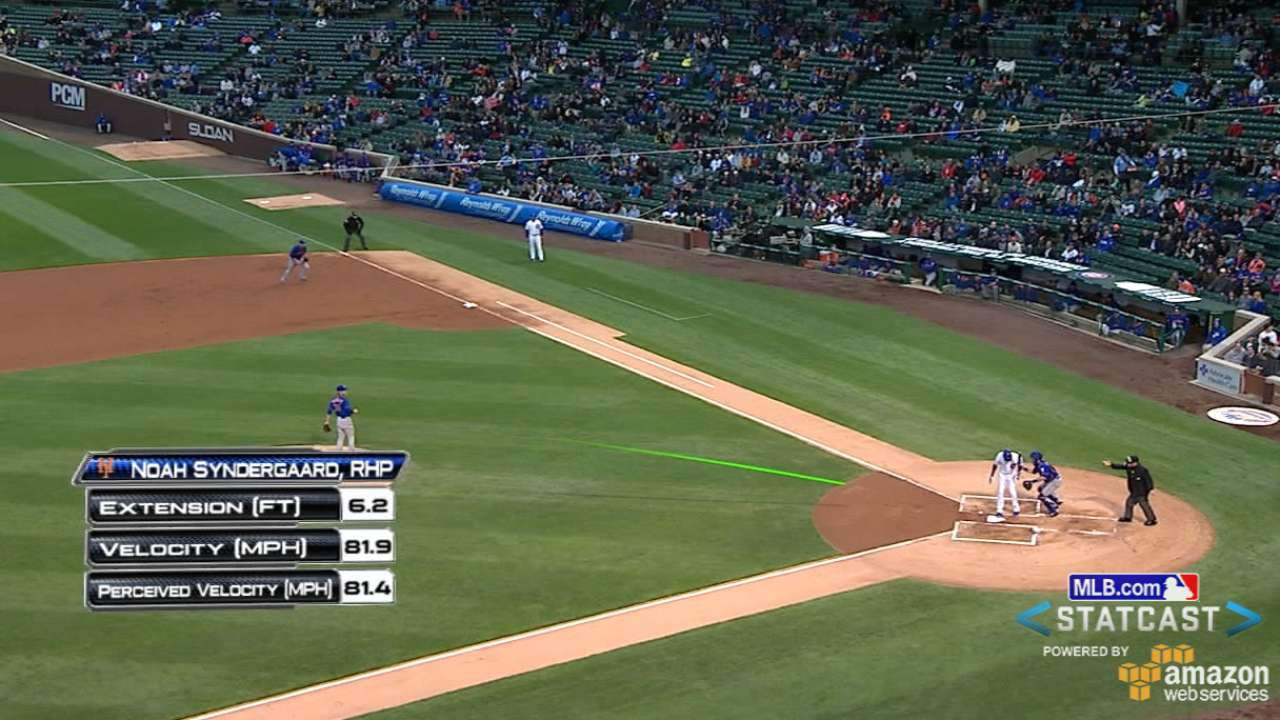 Statcast: Syndergaard's K's