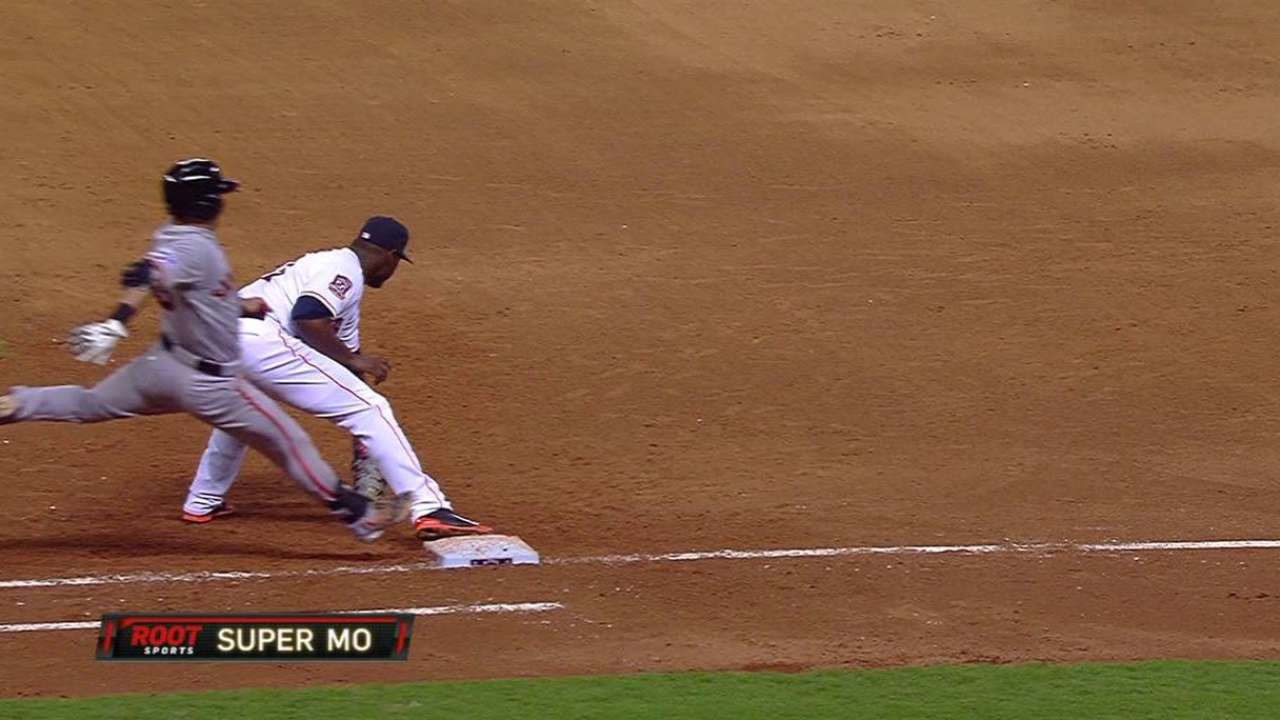 Safe call overturned in 6th