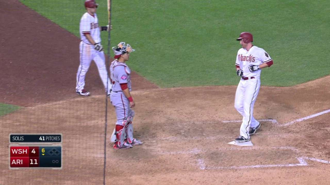 Trumbo's second homer