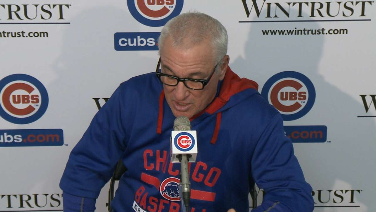 Maddon on the Cubs' 6-1 win