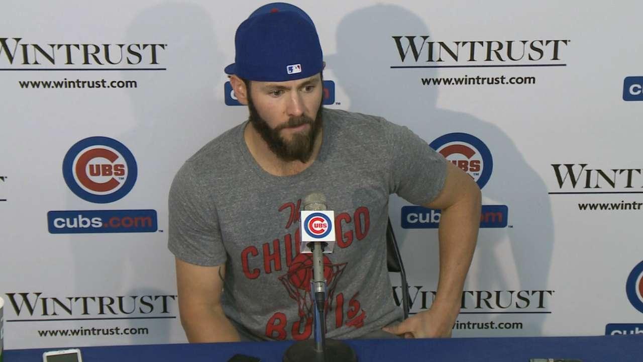 Arrieta discusses Cubs' 6-1 win