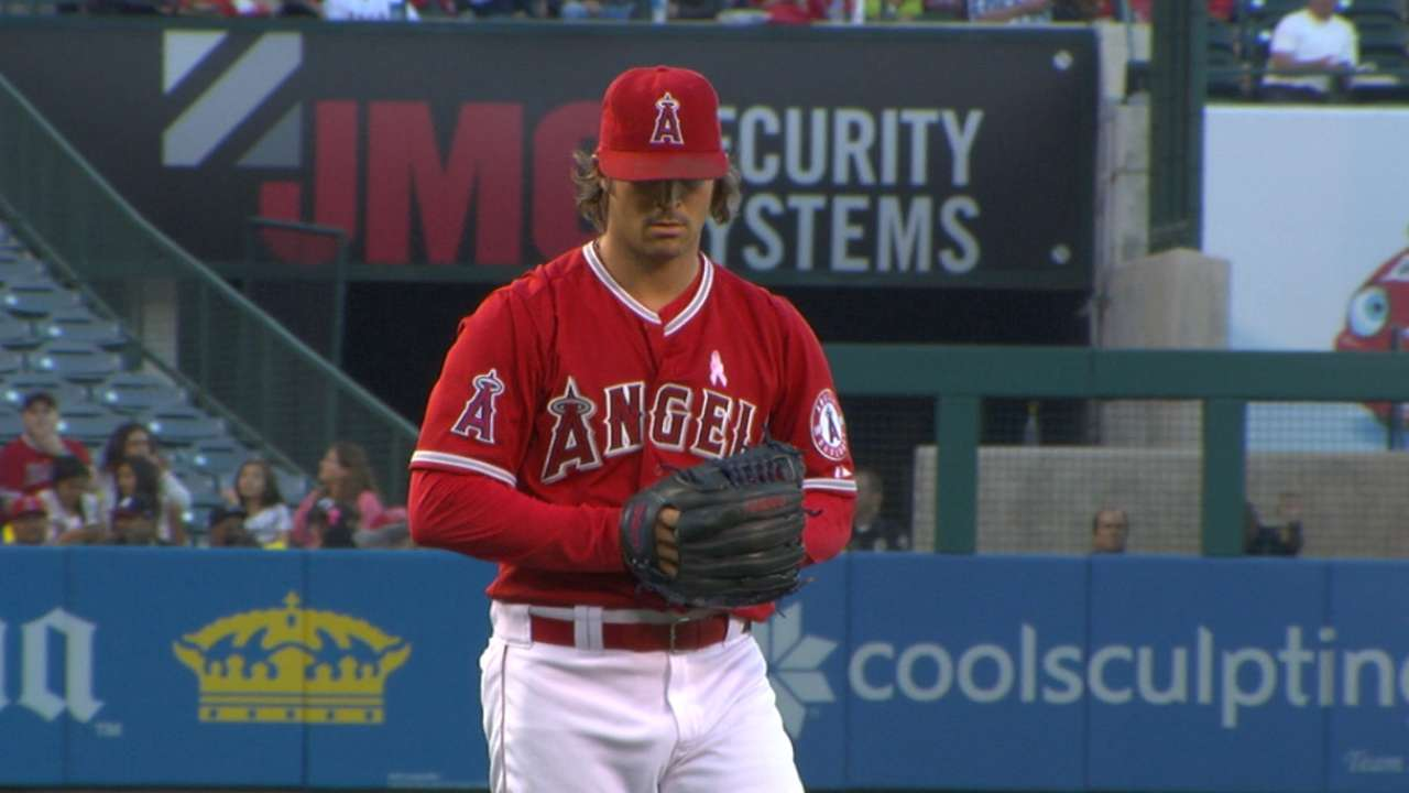 'New and improved' Wilson shining for Angels