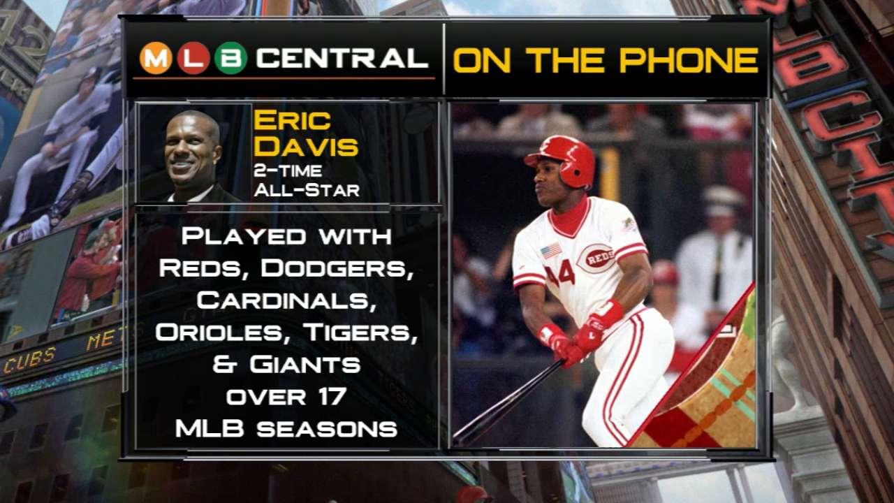 Eric Davis joins MLB Central