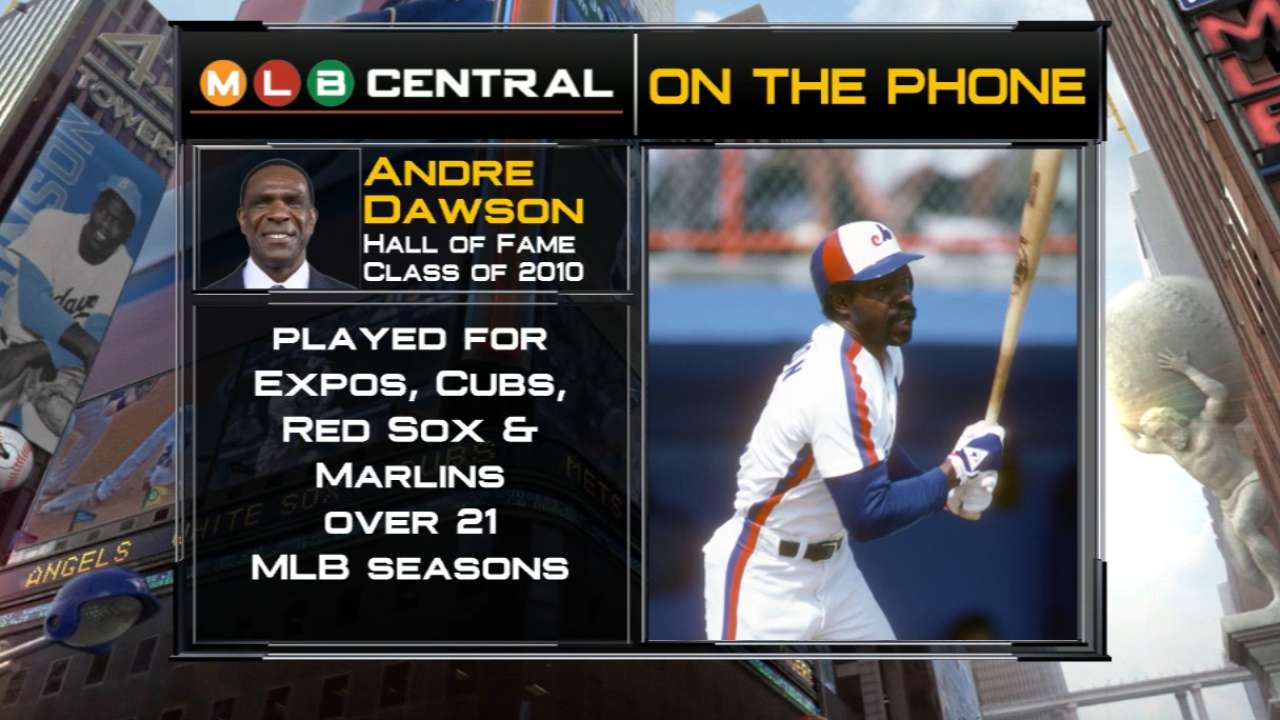 Andre Dawson joins MLB Central