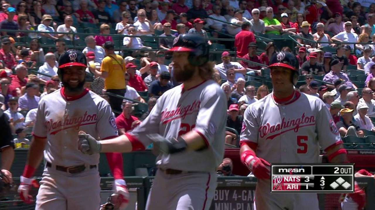 Werth's three-run homer