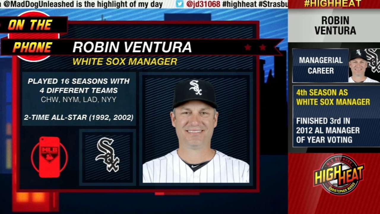 Ventura talks White Sox