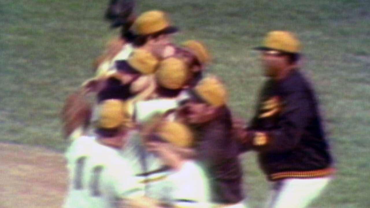Pirates win 1971 World Series
