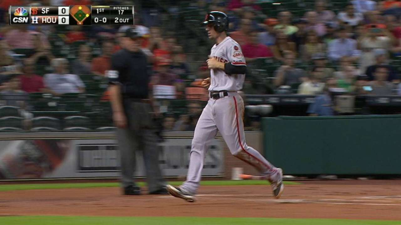 DH-ing not ideal scenario for Posey, Aoki