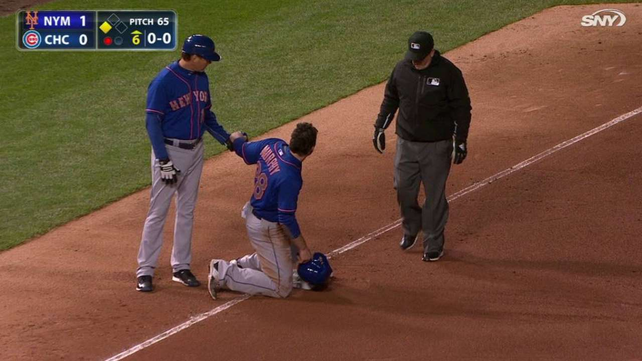 Murphy catches Cubs by surprise on steal