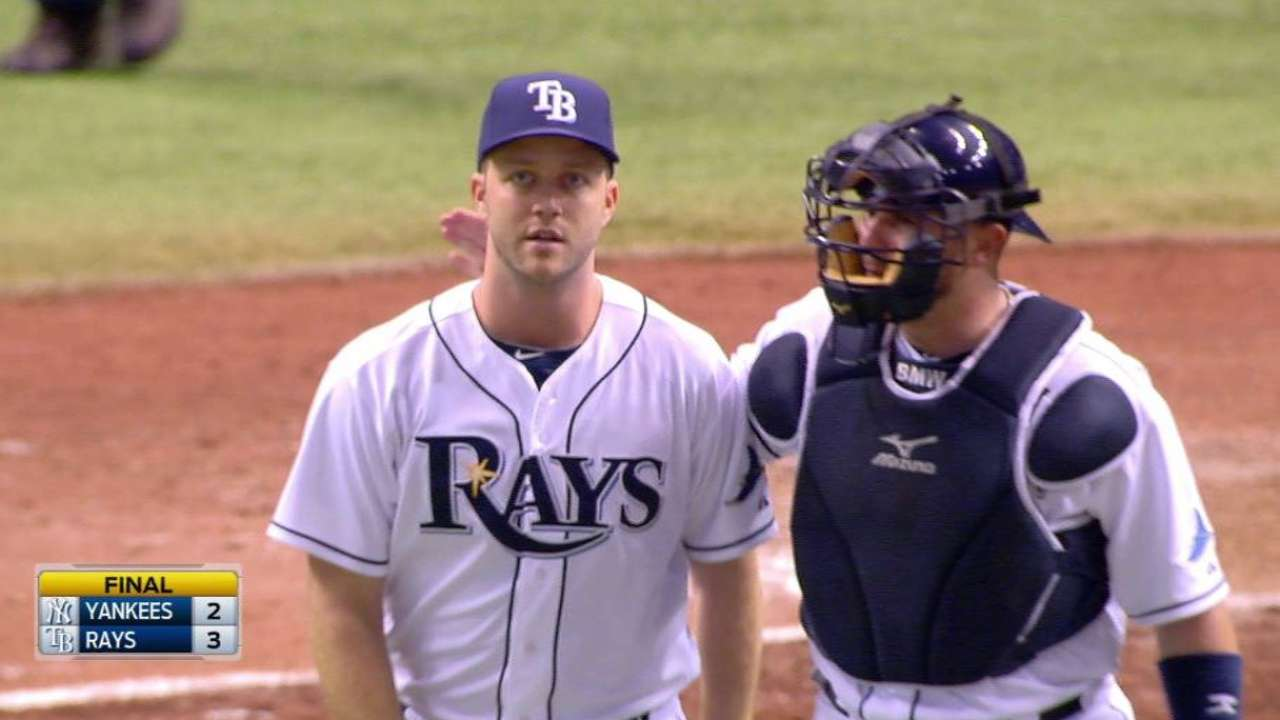Boxberger comfortable no matter when Rays call