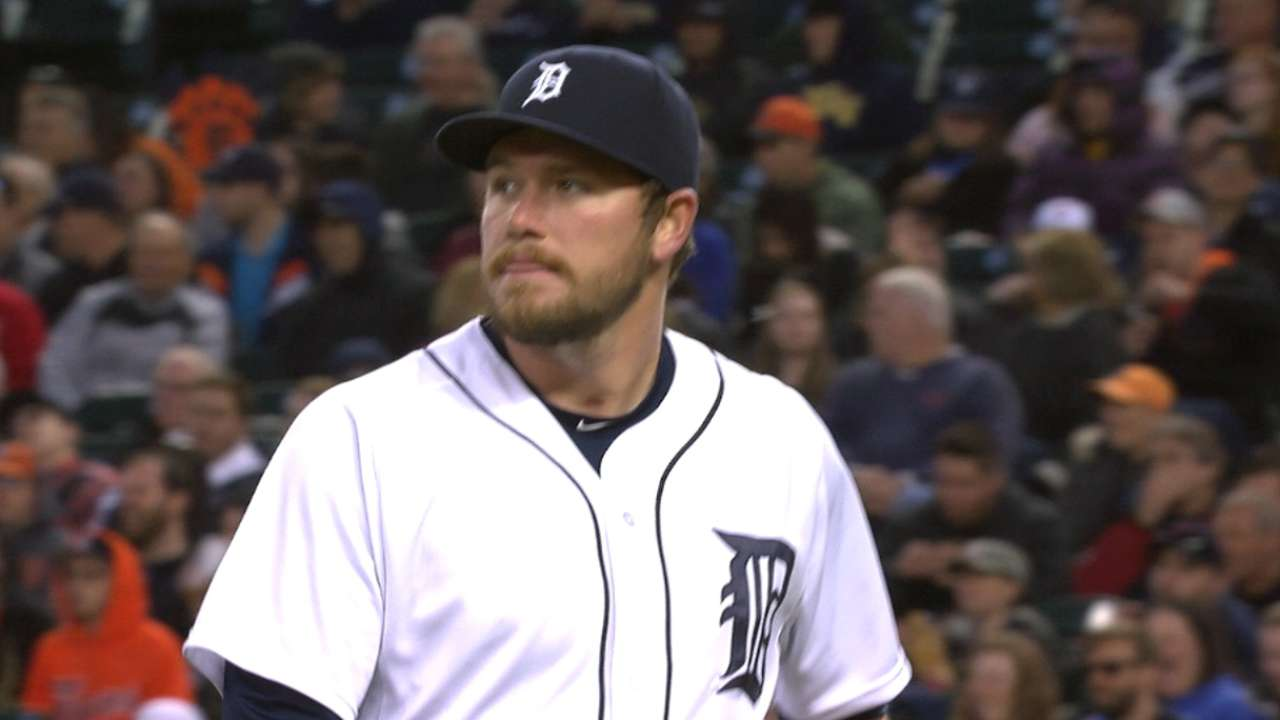 Versatile Wilson relishing time in Tigers' bullpen