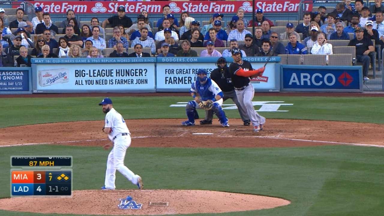 Stanton's two-run single