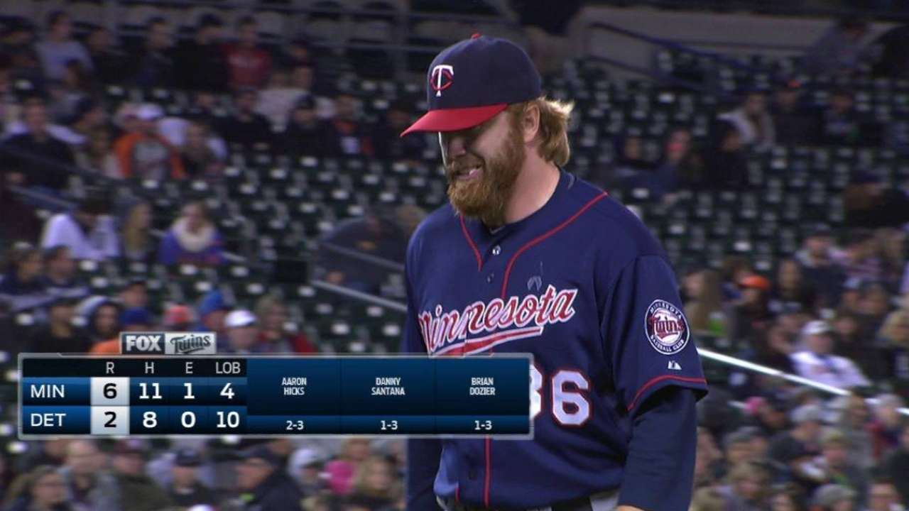 Boyer's resurgence has Twins confident late