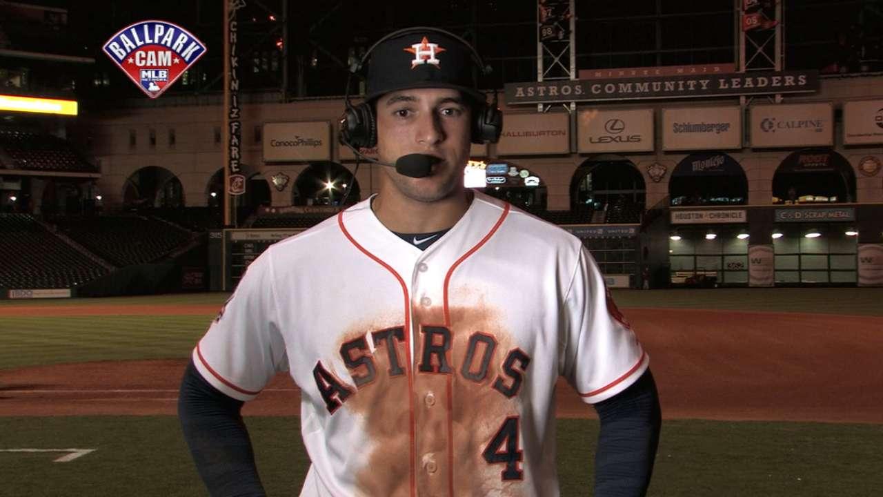 Springer talks to MLB Tonight