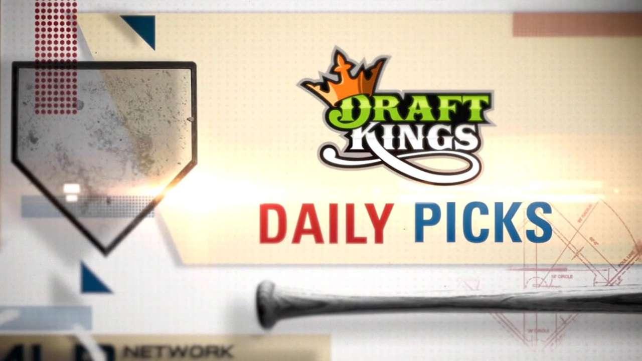 DraftKings picks: Gose, Miggy, Cuddyer
