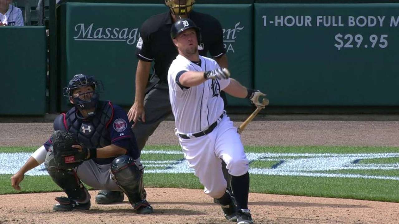 Holaday, Ryan first of Tigers' September callups