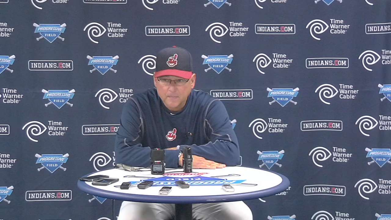 Francona on Bauer's outing