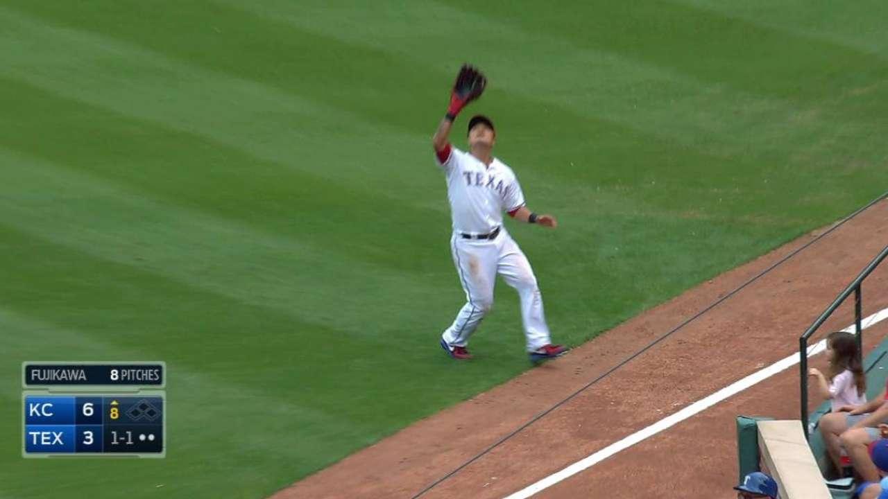 Fujikawa activated, makes Rangers debut