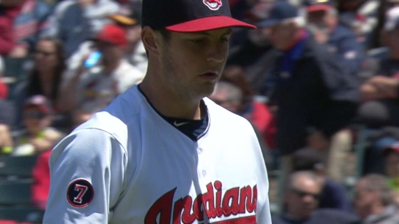 Bauer strikes out 10
