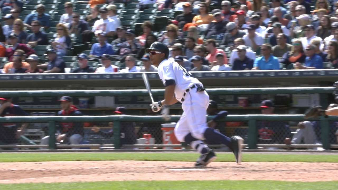 Gose's four-hit day