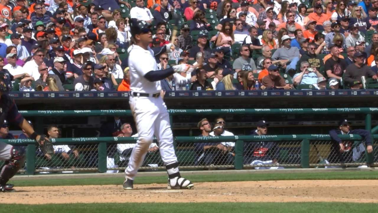 Miggy humbled to be 1 homer shy of Big Cat