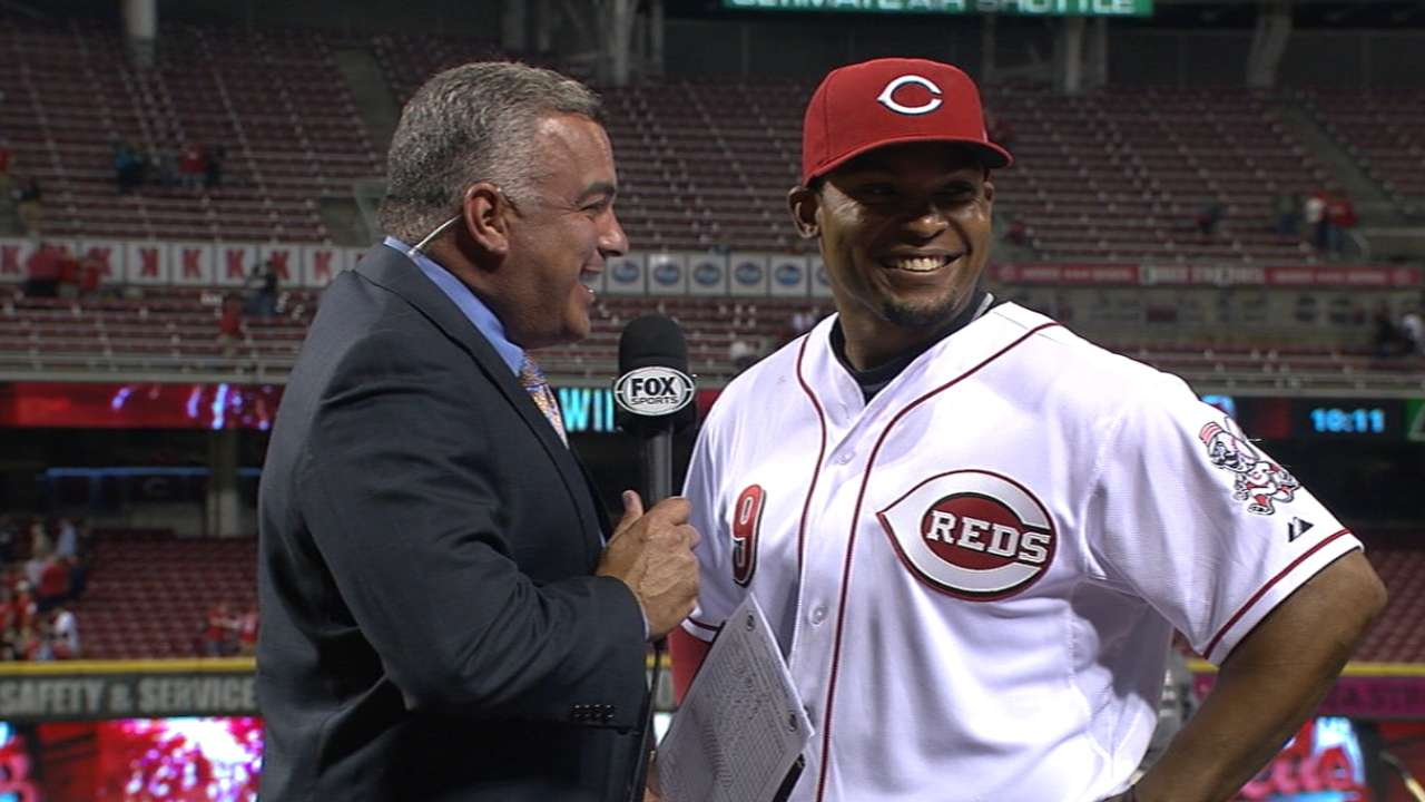 Byrd happy to justify Reds' faith in him