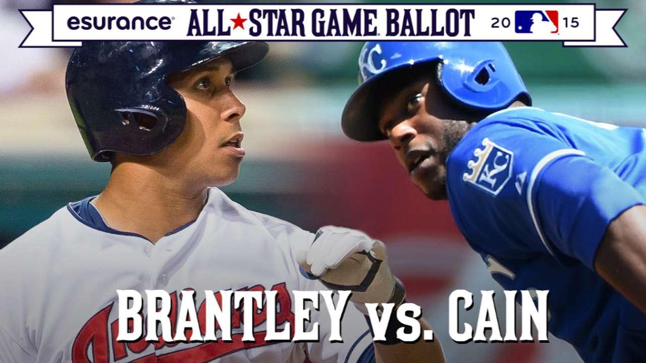 ASG debate: Brantley or Cain in AL outfield?