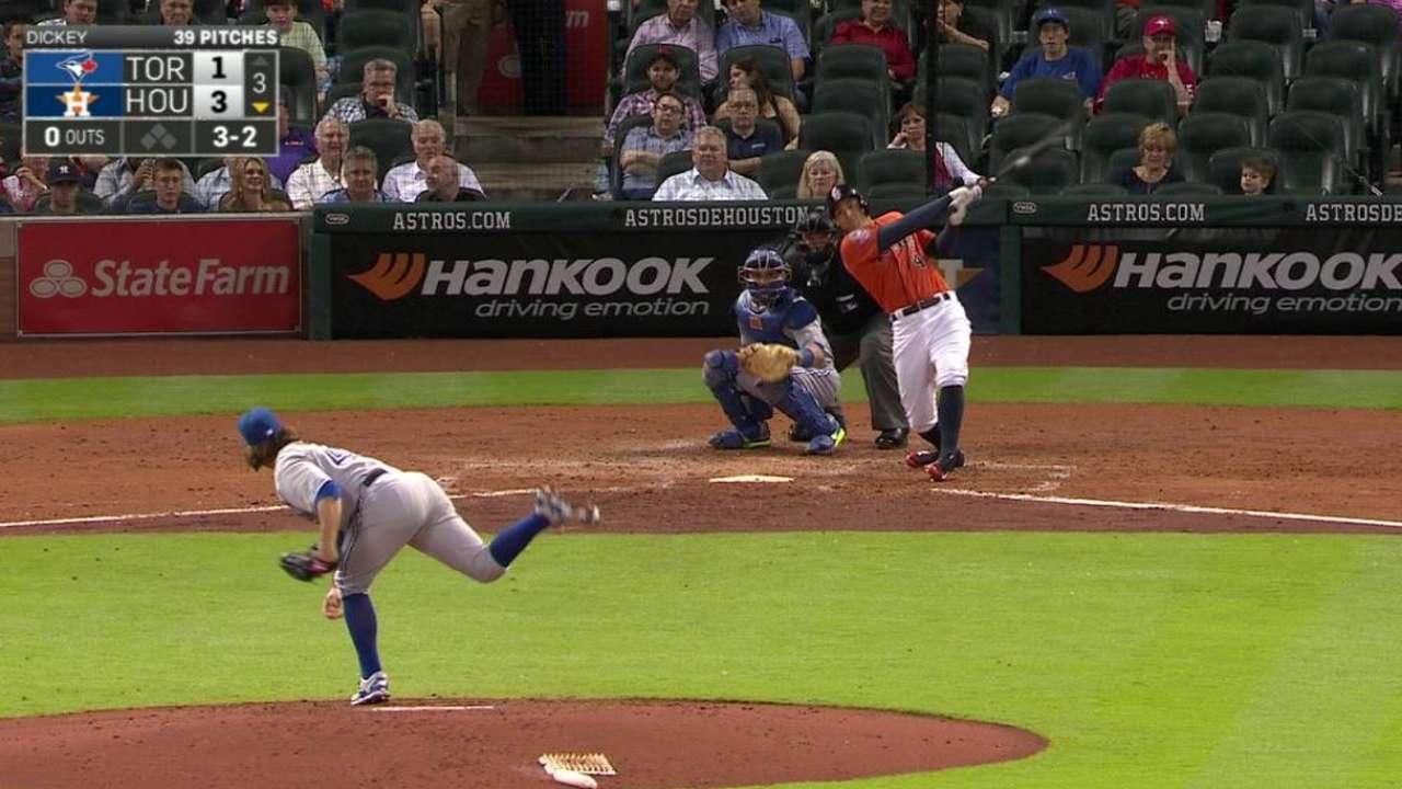 Springer's solo homer to center