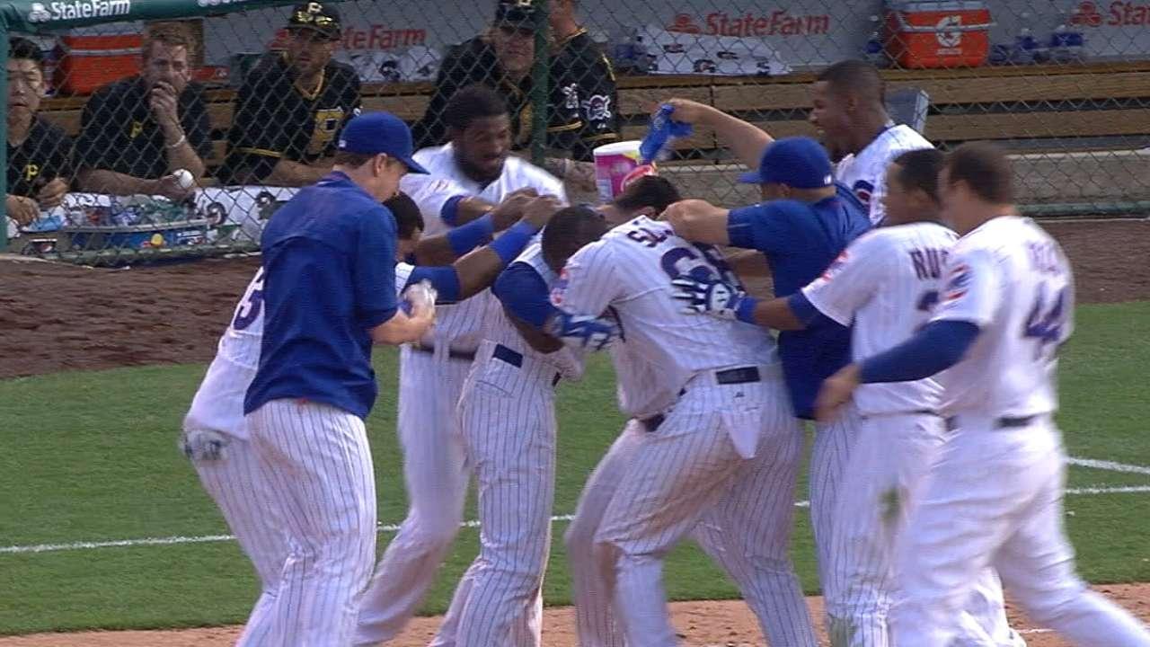 Cubs trip up Bucs in 12th; win streak hits 5