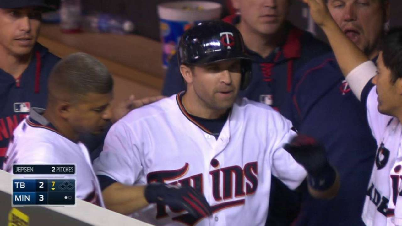 Dozier's sacrifice fly