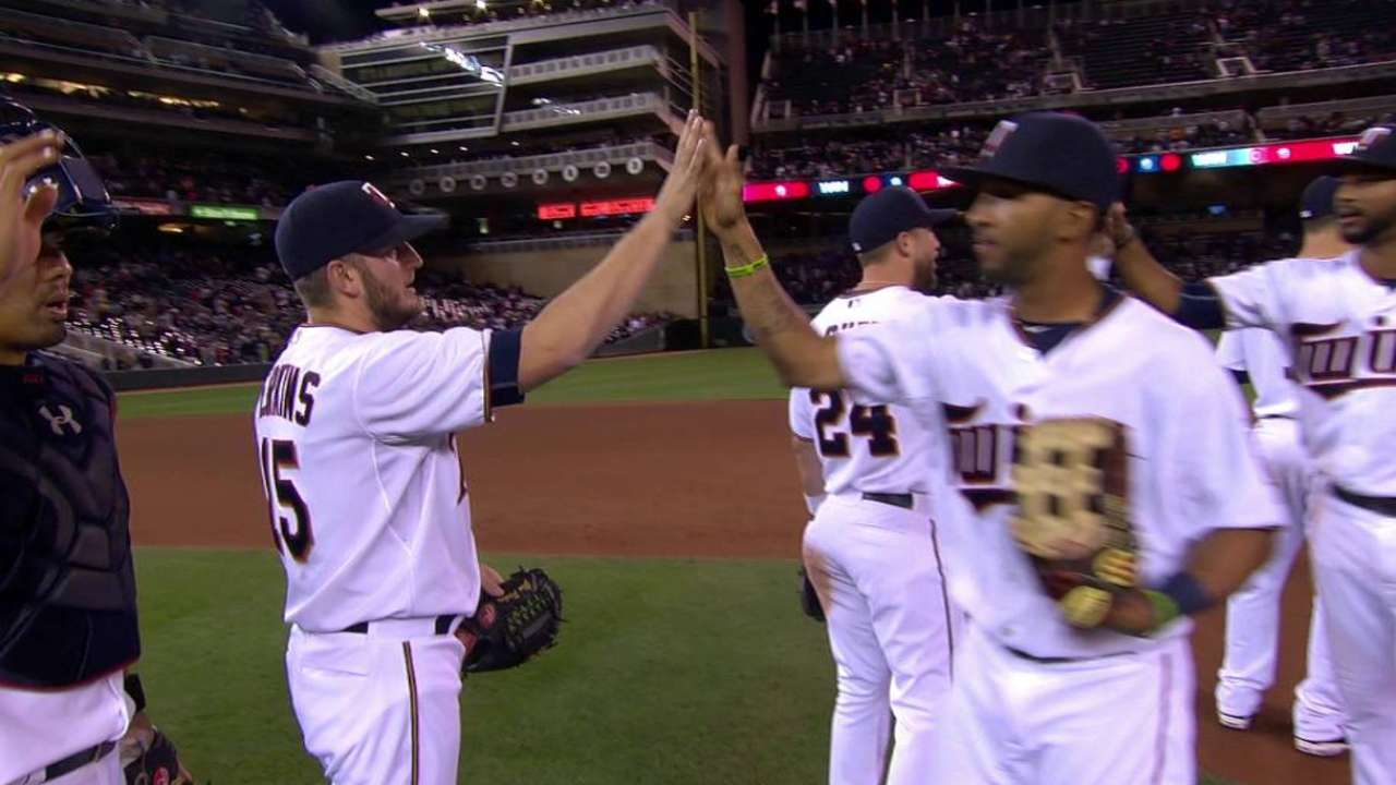 Perkins earns the save
