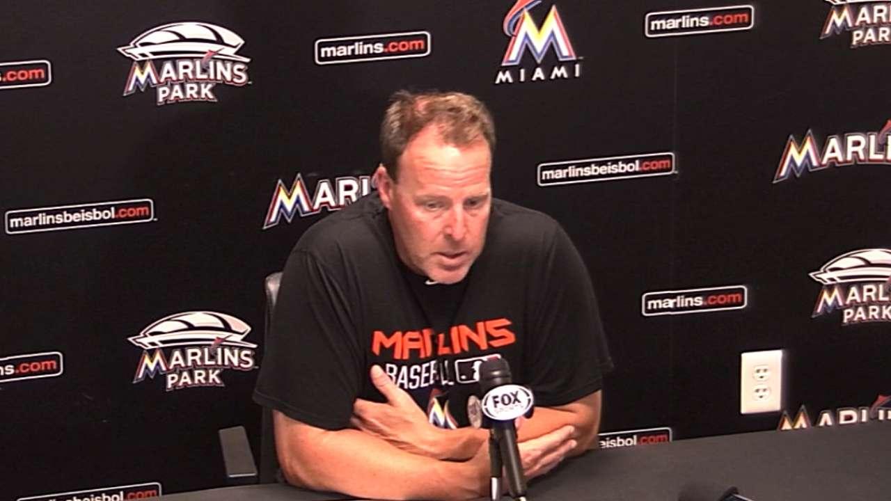Struggles for Marlins' bullpen continue