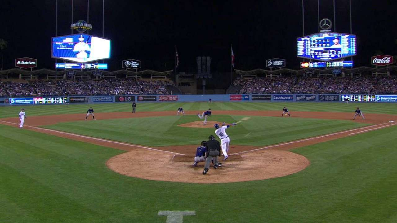 Ethier's RBI single