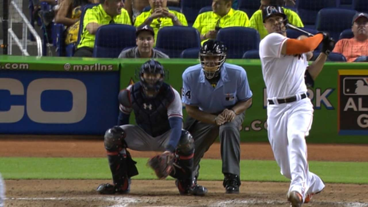Stanton impresses with prodigious home runs