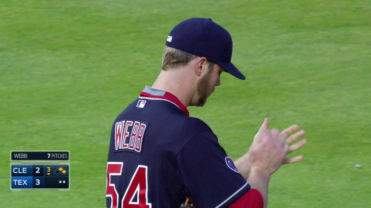 Webb faces O's for first time since being traded