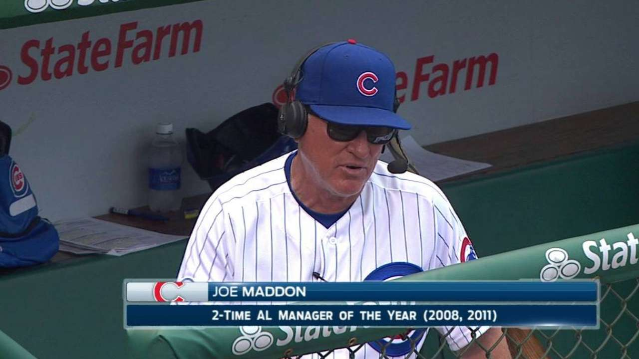Maddon on Rizzo's impact