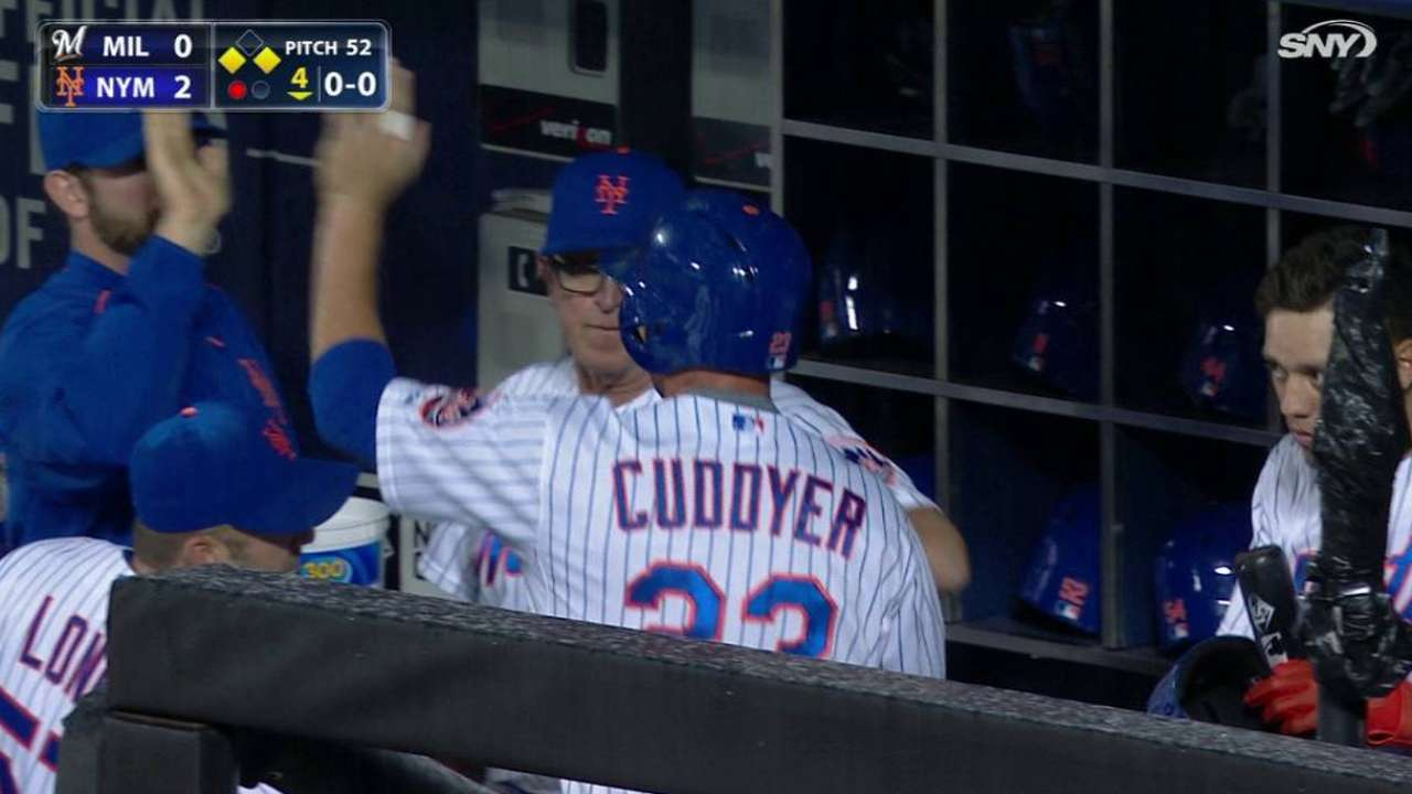 Mets grab second run in the 4th