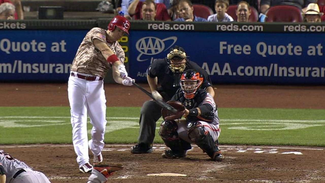 Bruce's solo home run