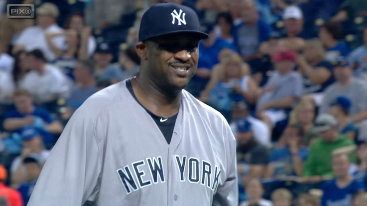 CC goes seven strong as Yanks clip Royals