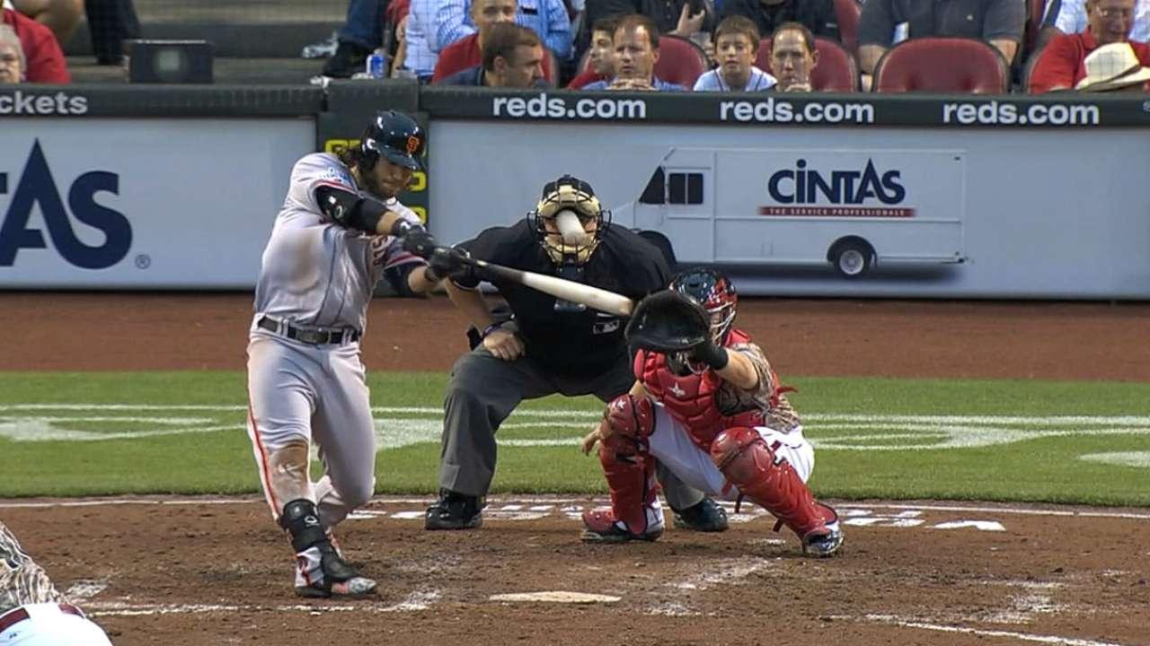 Crawford drives in six runs