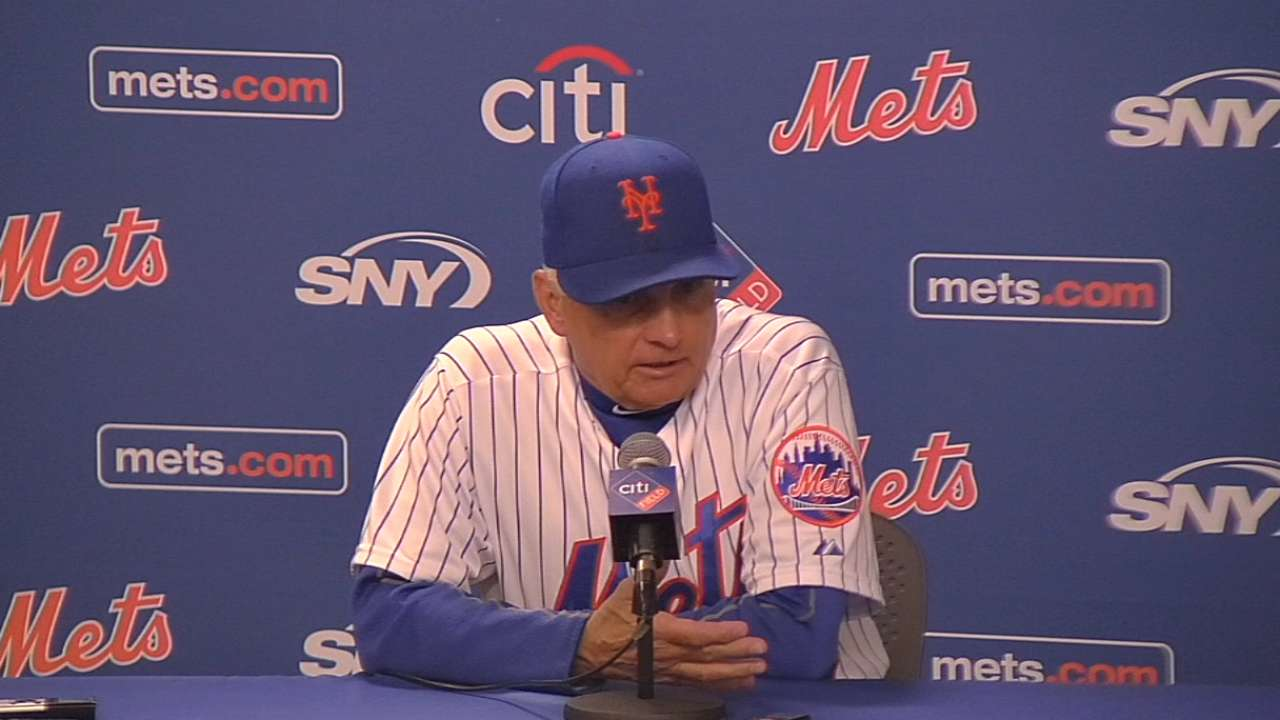 Collins on win and Mets' offense